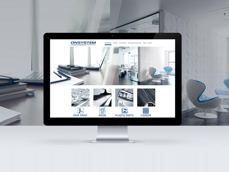 ONSYSTEM technic GmbH | Screendesign